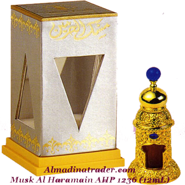 Musk Al Haramain Perfume Oil 12ml by Al Haramain Perfumes