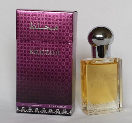 Khaltath Roll-on Perfume Oil 15ml by Al Haramain