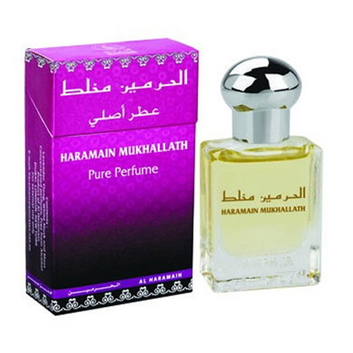Mukhallath Roll-on Perfume Oil 15ml by Al Haramain