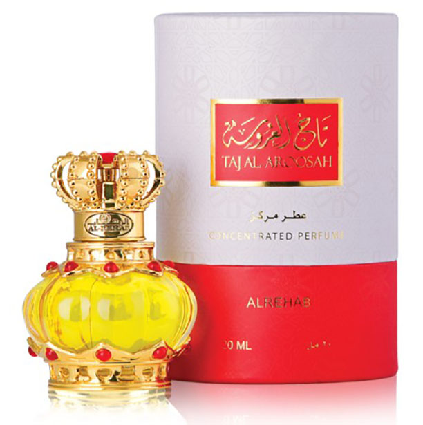 Taj Al Aroosah Perfume Oil 20ml by Crown Perfumes