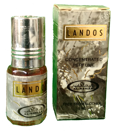 Londos Roll-on Perfume Oil 3ml by Al Rehab