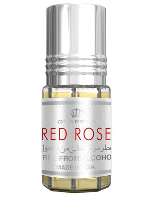 Red Rose Roll-on Perfume Oil 3ml by Al Rehab