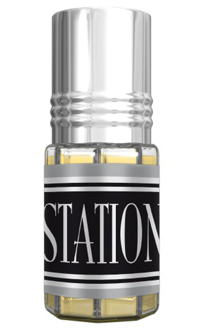 Station Roll-on Perfume Oil 3ml by Al Rehab
