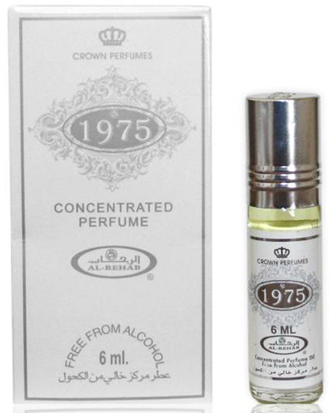 1975 Roll-on Perfume Oil 6ml by Crown Perfumes