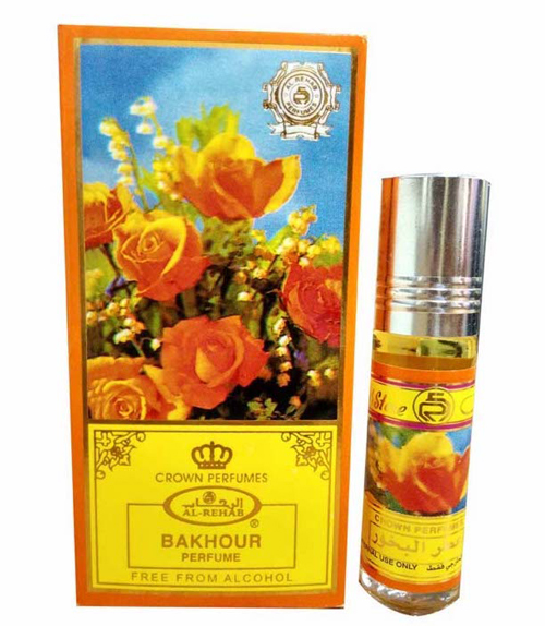 Attar Al Bakhour Roll-on Perfume Oil 6ml by Al Rehab