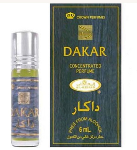 Dakar Roll-on Perfume Oil 6ml by Al Rehab