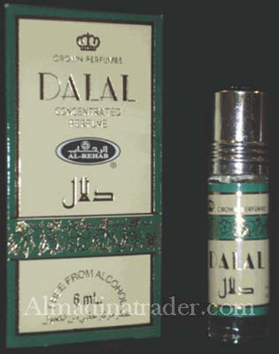 Dalal Roll-on Perfume Oil 6ml by Al Rehab
