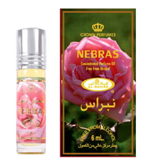 Nebras Roll-on Perfume Oil 6ml by Al Rehab