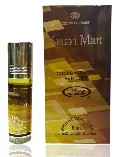 Smart Man Roll-on Perfume Oil 6ml by Al Rehab - Click Image to Close