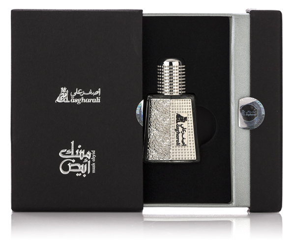 Musk Abyid Pocket Sized Perfume Oil 6ml by Asgharali