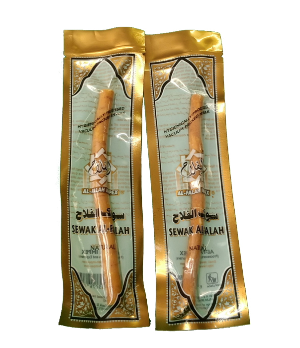"Miswak 6"" Vacumm Packed Natural Flavor"